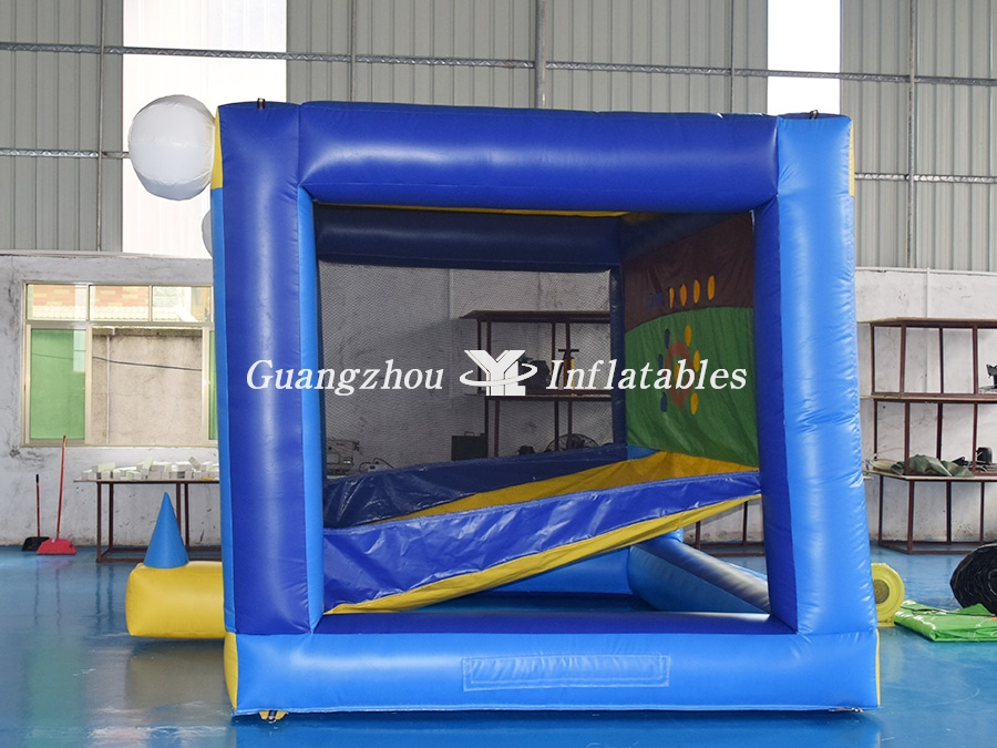 Inflatable Batting Cage Baseball Game Bounce House