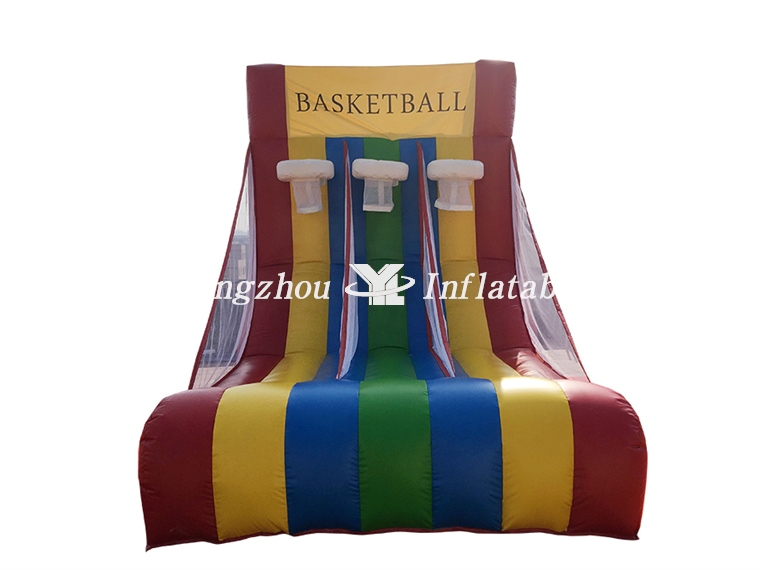 Inflatable Basketball Hoop Games