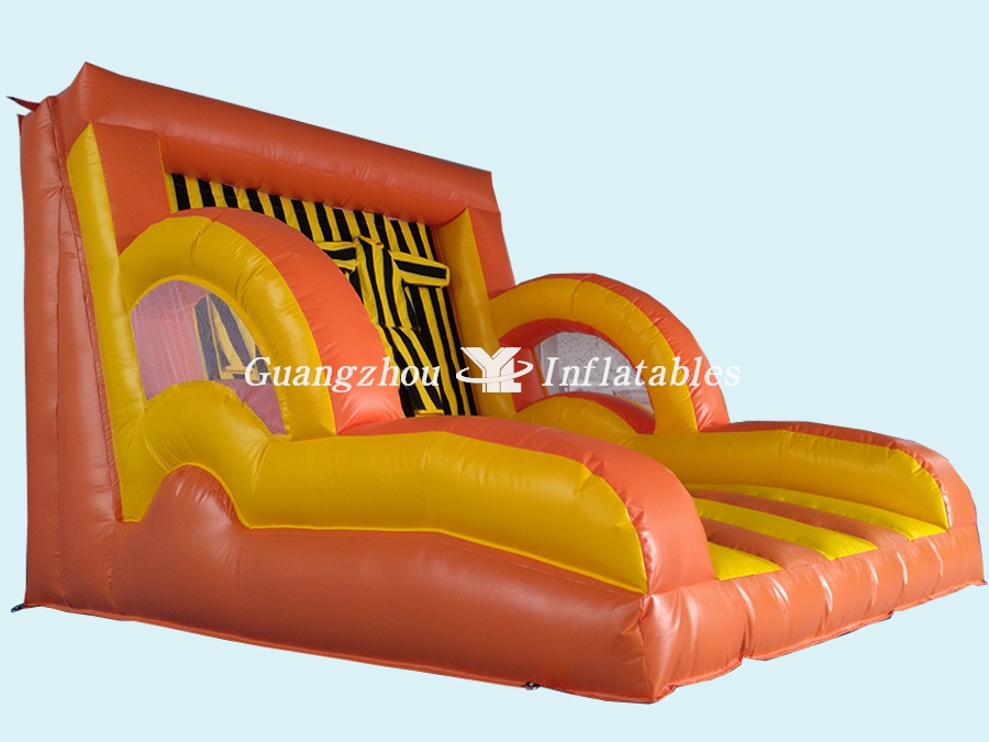 Giant inflatable Velcro wall interactive games