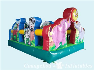 Fashionable Inflatable Fun City For Kids
