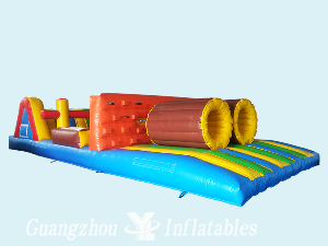 Mini Inflatable Obstacle Hurdle Race for kids