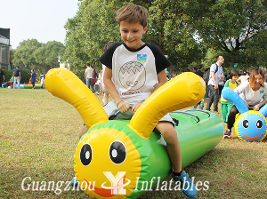 Inflatable Caterpillar pipe Games