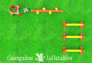 Fun Obstacle Balance Tube Games