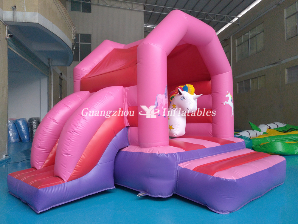 Inflatable Unicorn Bouncer Combo for sale