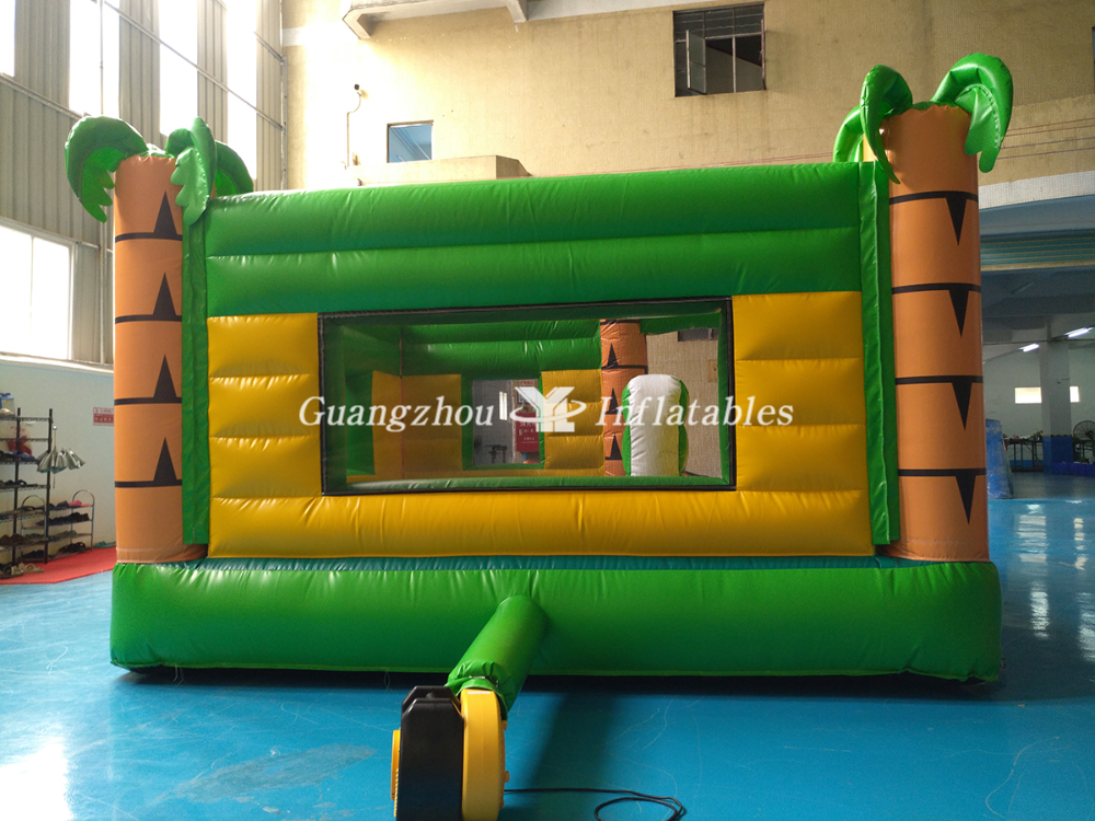Zoo theme Inflatable Bouncer Castle for kids