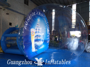 Inflatable Theme Snow Ball for Night
