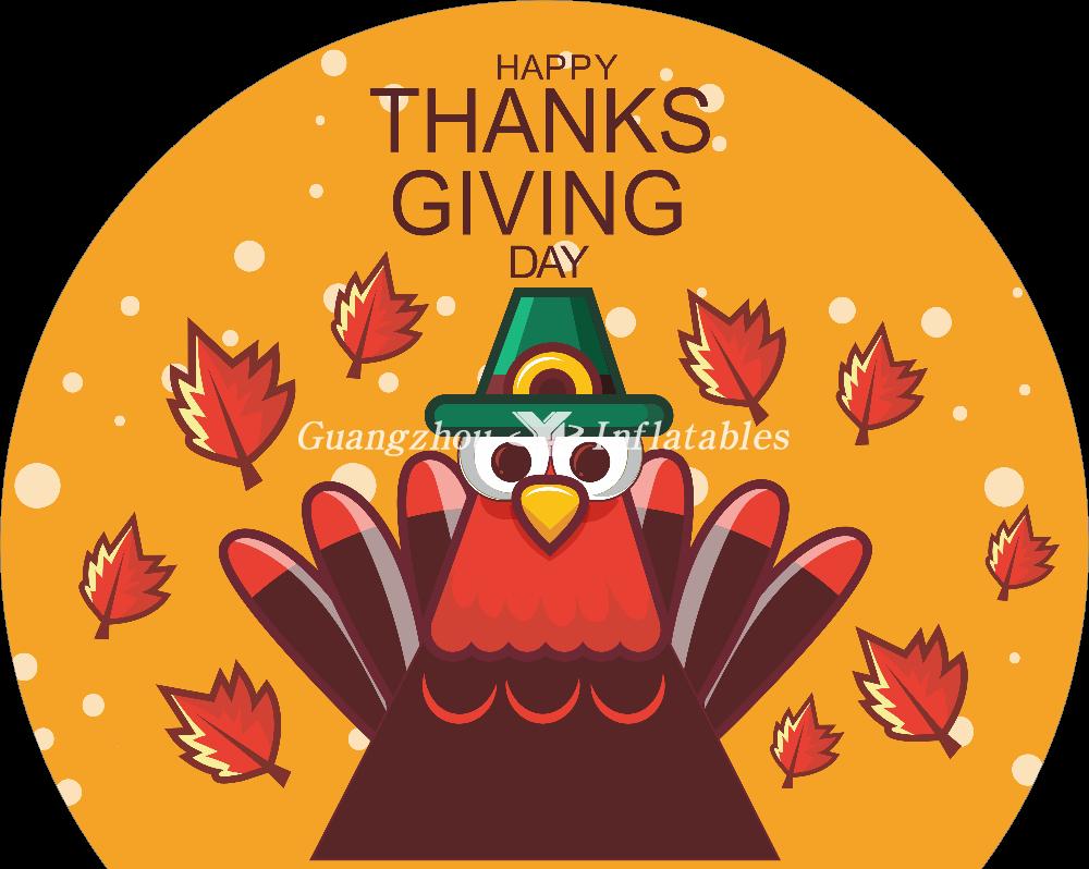 Thanksgiving Turkey theme showball