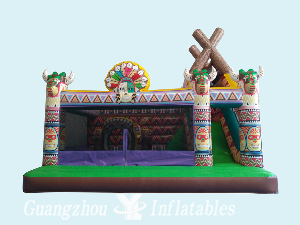 Inflatable Indian Theme Fun City