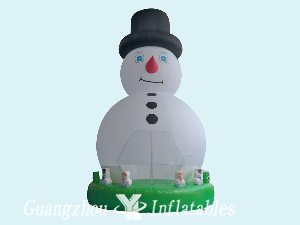 Inflatable Snowman Jumping House