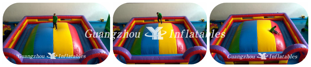 Inflatable Air Mountain--jumping race to the top