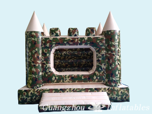 Camouflage Bounce House