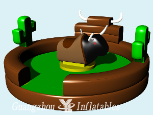 Cactus Theme Mechanical Bull Rides
