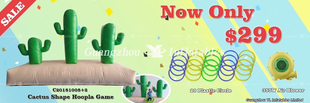 Inflatable Hoopla Promotions 299usd