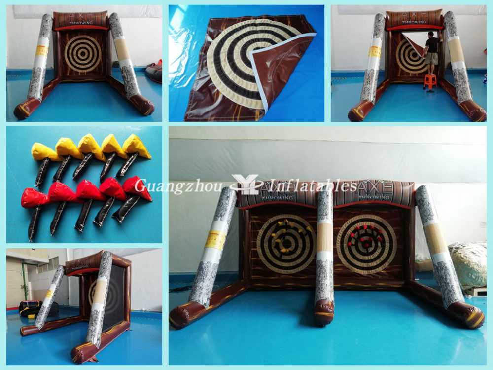 new style easy replace target Axe Throwing Games