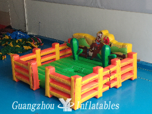 Inflatable Bull Riding Machine