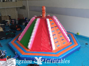 Inflatable Rock Climbing Slide for Sale