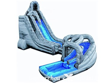 Rock Twist style with Pool Waterslides