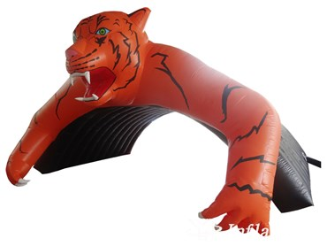 Inflatable Entrance Tiger Tunnel