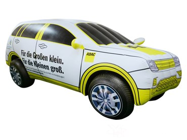 Custom Inflatable Car Model With Logo Printing