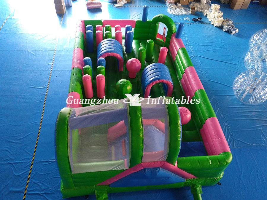 Fascinating Outdoor Playground Inflatable Fun City