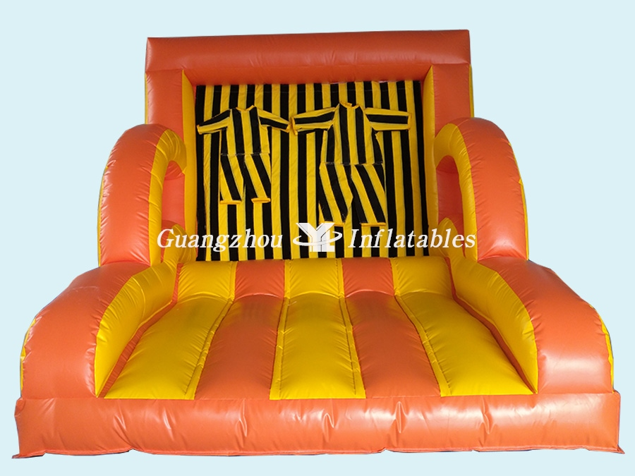 Magic Inflatable Jump  Velcro Wall with Suit
