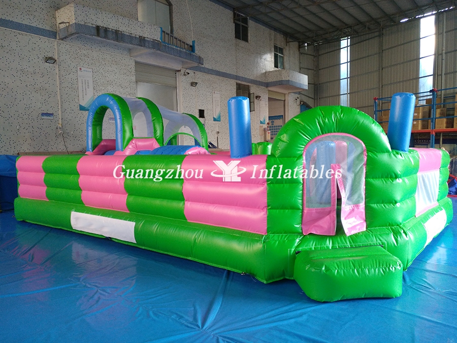 Giant Fascinating Outdoor Playground Inflatable Fun City
