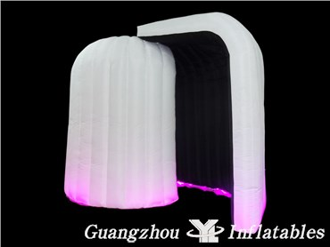 Led Lighting Used Inflatable  Booth Enclosure Tent