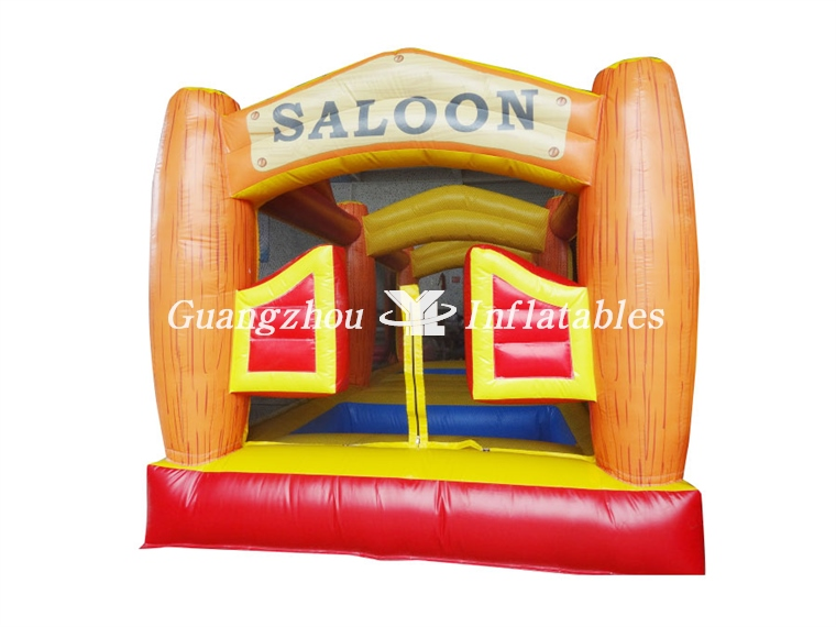 Inflatable Saloon Jumping Castle, Inflatable Moon Walker