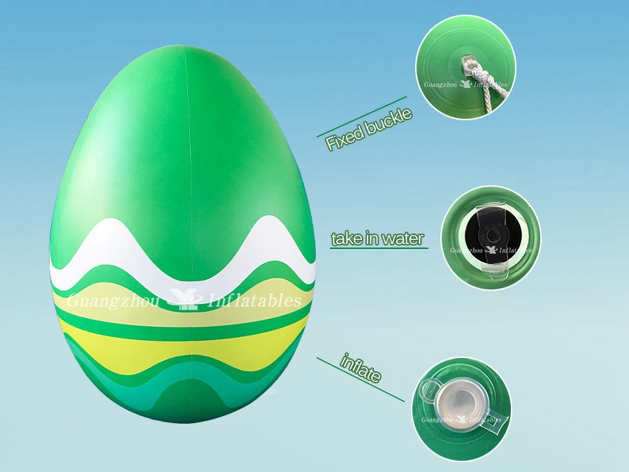Easter Egg Inflatable Decoration