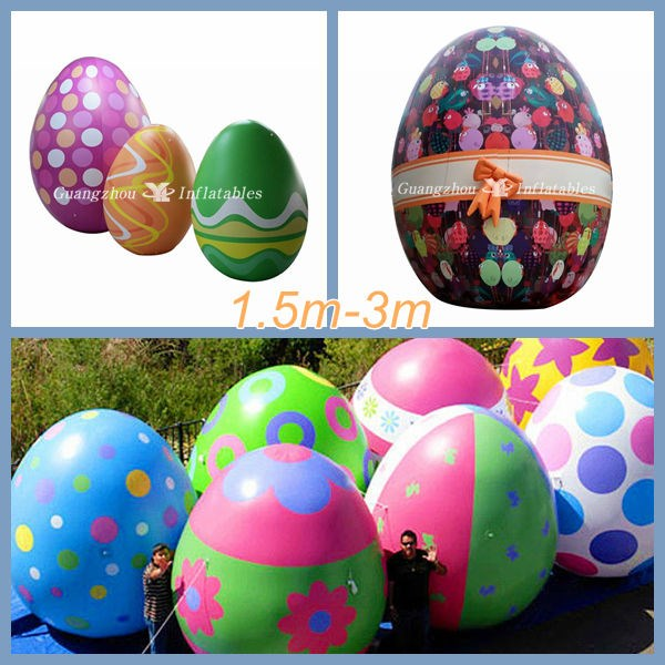 Large Inflatable Party Cute Easter Egg