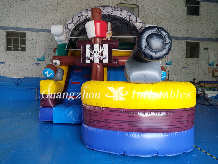 Inflatable Buccaneer Pirate Ship for Entertainment - YL Inflatables