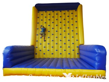 Exciting Inflatable Rock Climbing Wall