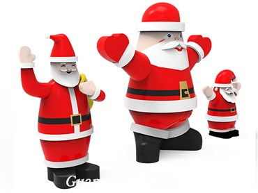 cheap outdoor giant santa inflatable christmas holiday decorations inflatable a dvertisng santa - Cheap Inflatable Christmas Decorations