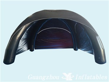 Black Sealed Inflatable Camping Tent