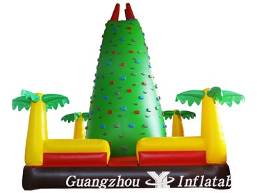 Inflatable Climbing Wall Park