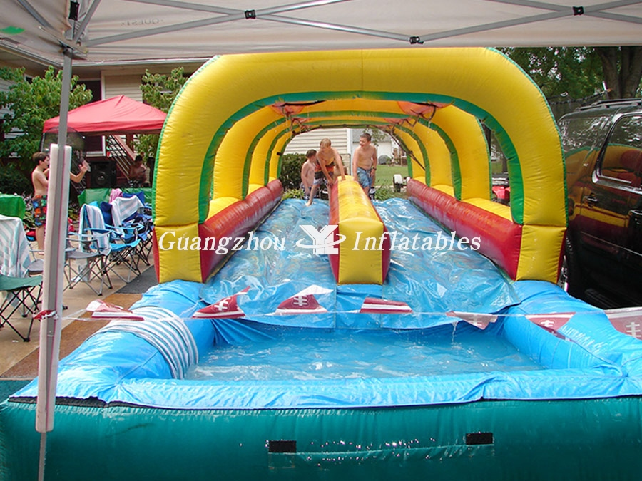 Funny Inflatable Double Lane Slip N Slide Yl Inflatables