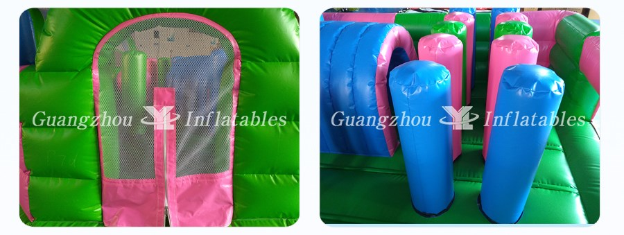 Commercial Outdoor Playground Inflatable Fun City factory Price