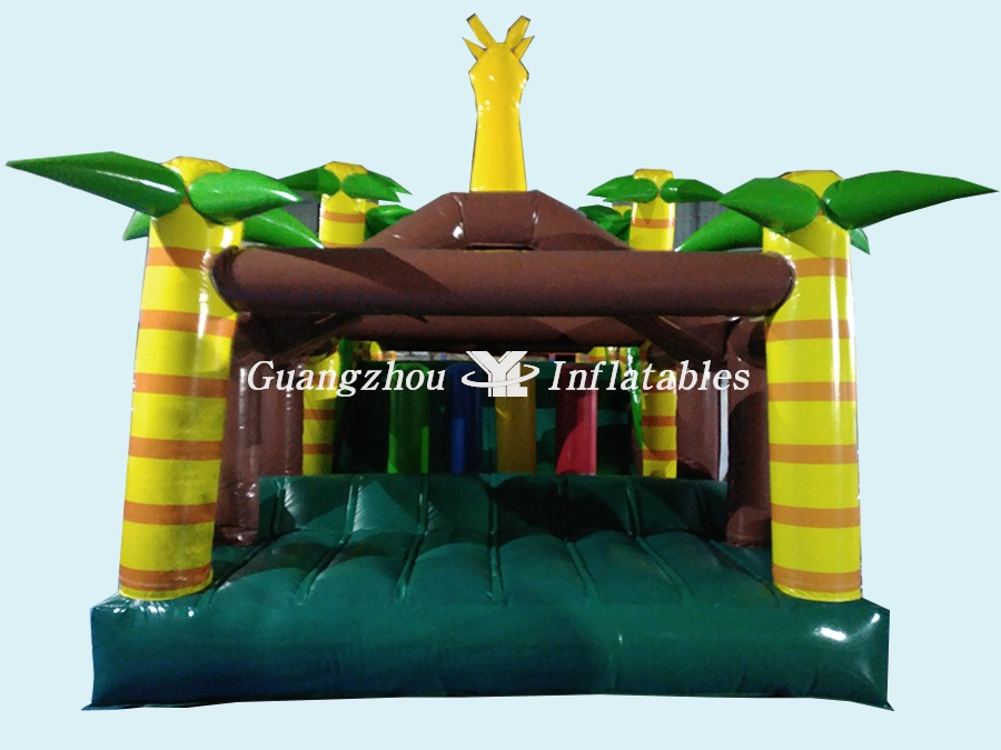 Giant Forest Inflatable Obstacle Game