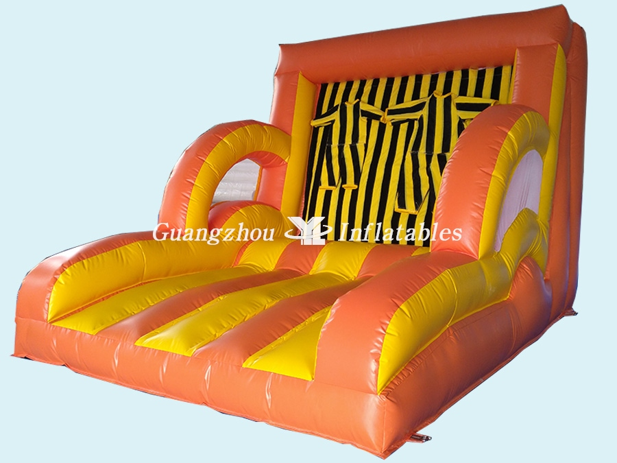 Magic Inflatable Velcro Wall  Challenge Games with Suit